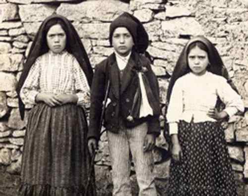 Pastores-Virgen-Fátima
