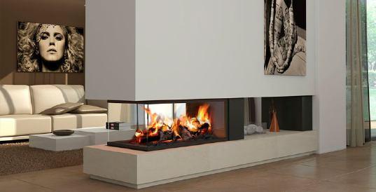 Chimeneas decoraci n estructura y tipos - Tipos de chimeneas modernas ...