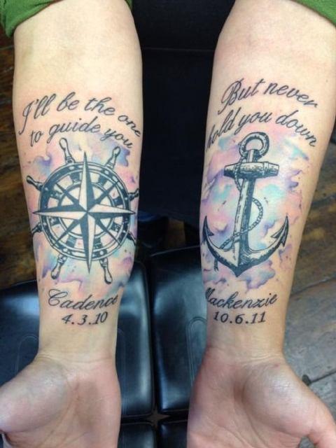 tatuaje-antebrazo-ancla – ViaJoven.com