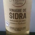 Vinagre de sidra de Asturias