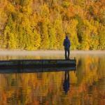 Hombre en el lago