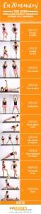 Infografía fitness 20 minutos